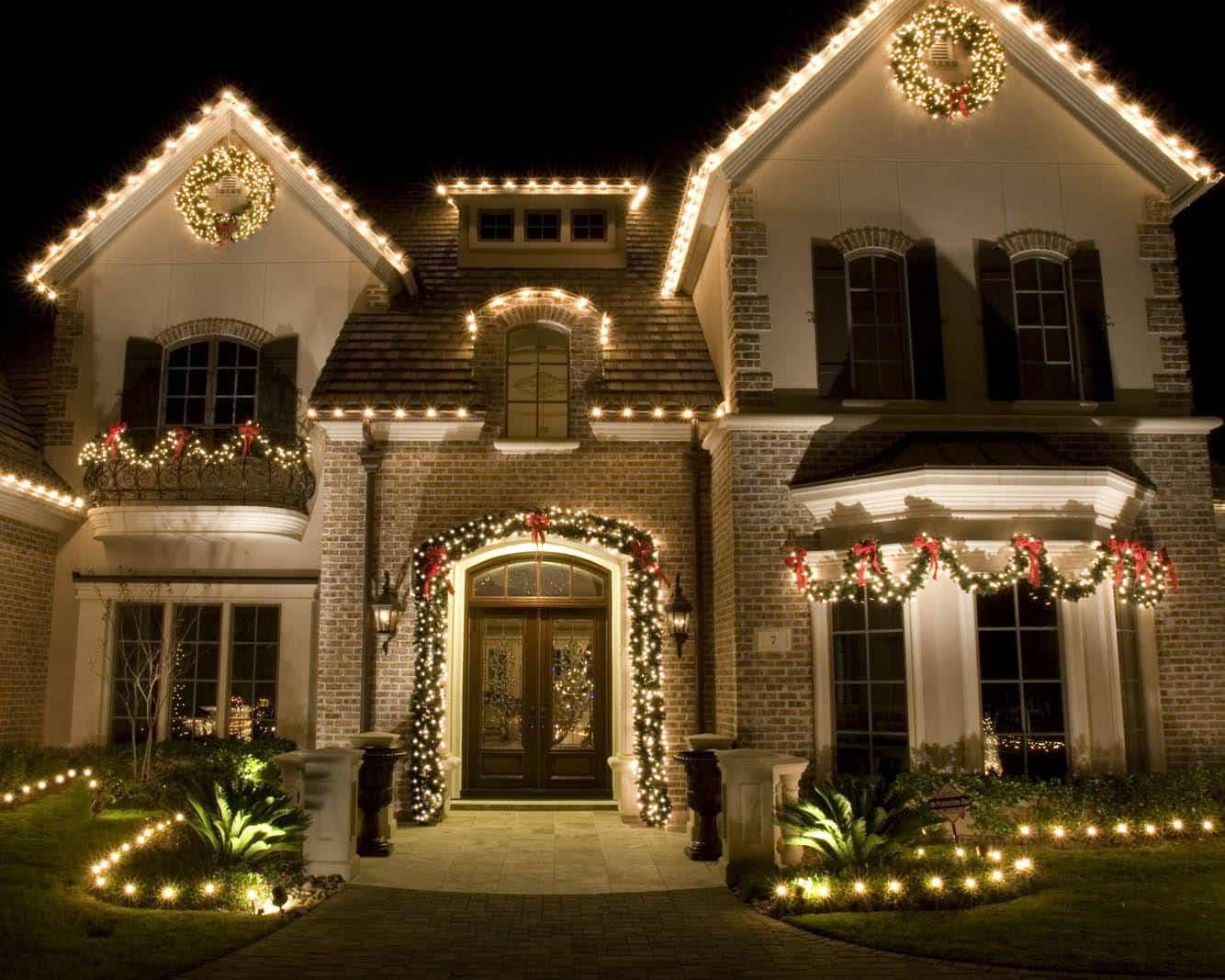 christmas light installation in colorado - Christmas Light Hanging Business