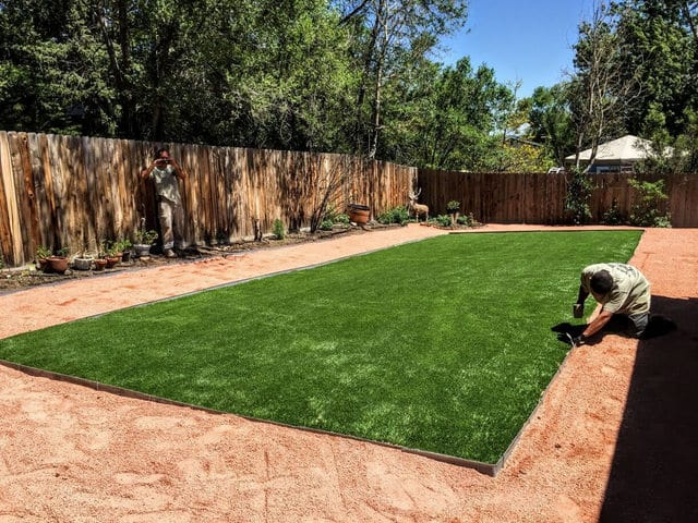 Artificial Grass Playground Colorado Springs
