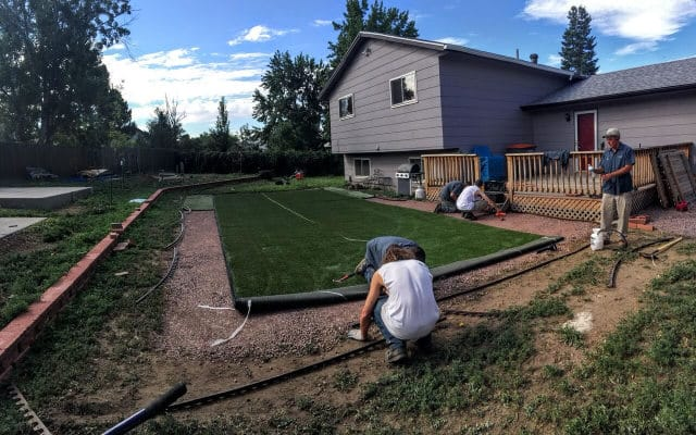 Artificial Grass Installation Columbine CO