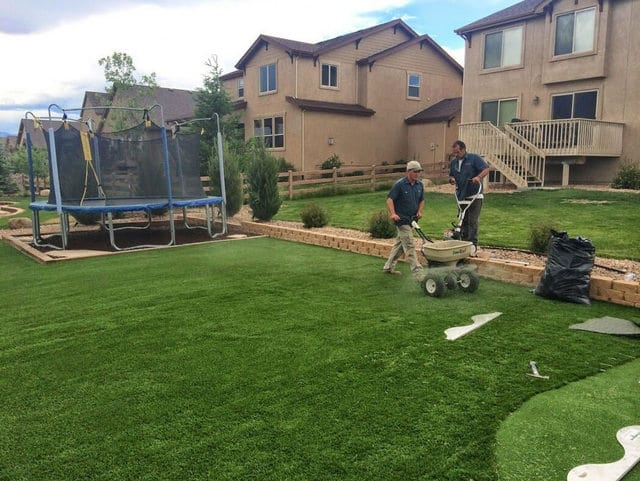 Artificial Grass Installation By Lawn Pros Denver