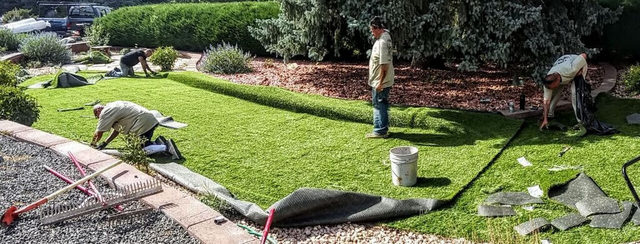 Artificial Grass Installation team in Monument, CO