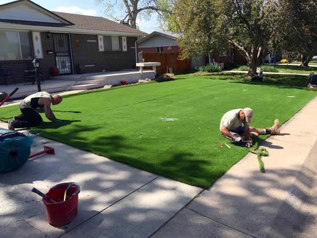Artificial Grass Installation - Pet Friendly