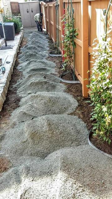 Ground Preparation for Fake Grass Installation
