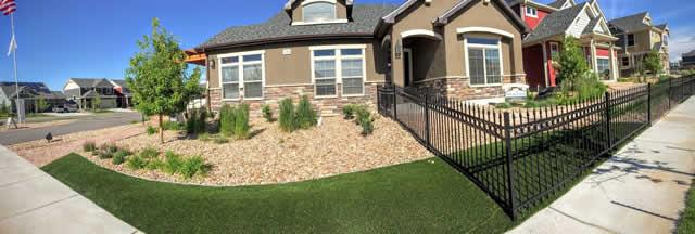 Artificial Grass Installation on Wheat Ridge lawn