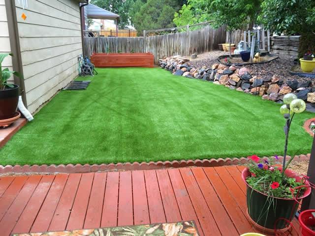 best looking artificial grass