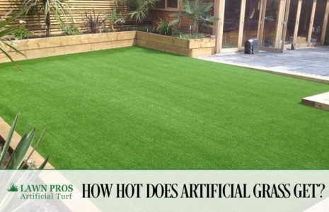 How Hot Does Artificial Grass Get?