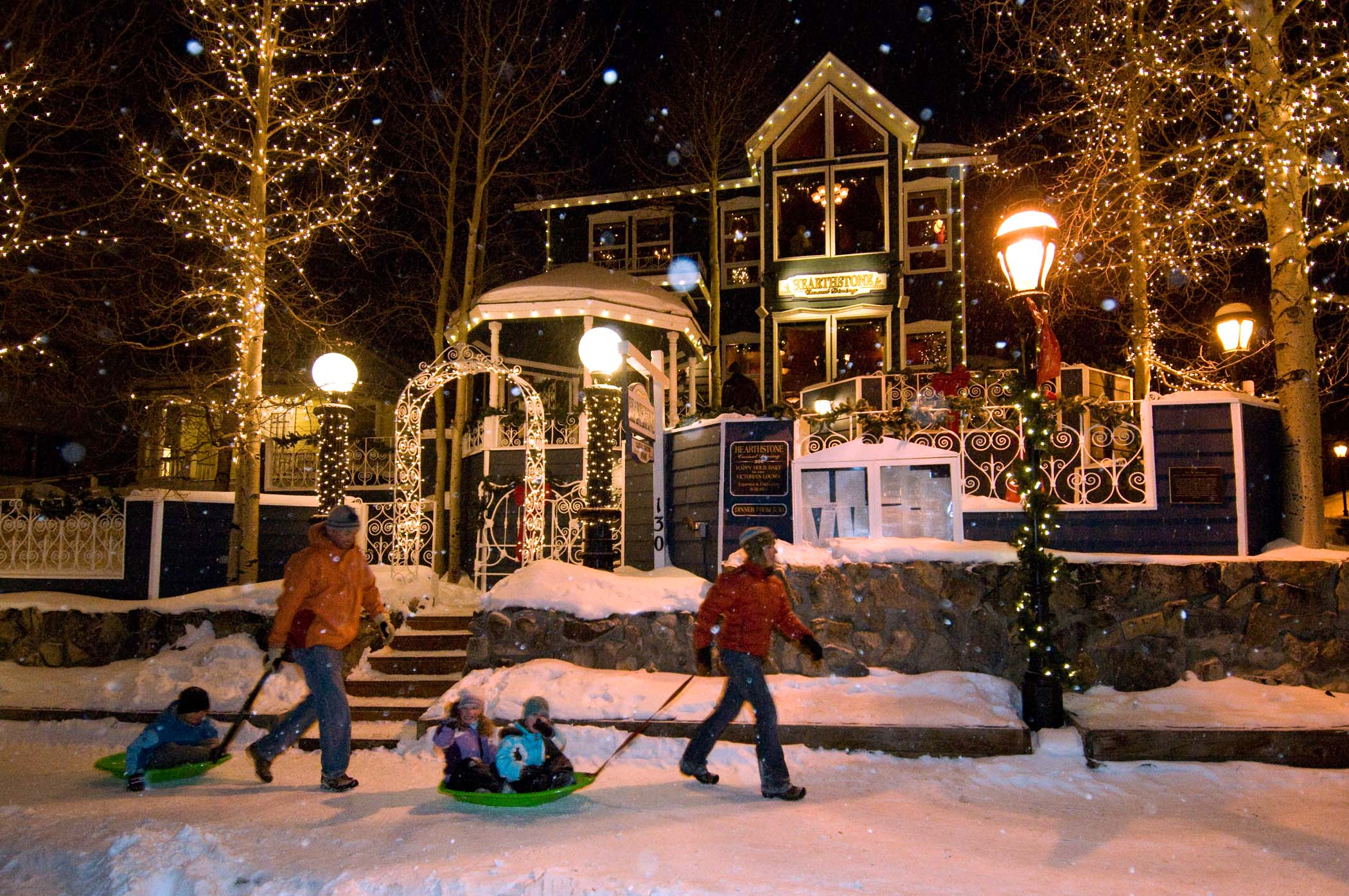 fresh snow and winter activities make christmas in breckenridge the most wonderful time of the year looking for a romantic evening during your holiday - Breckenridge Christmas
