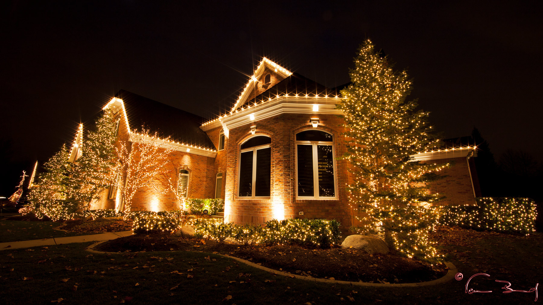 christmas lights installation - Professional Outdoor Christmas Decorations