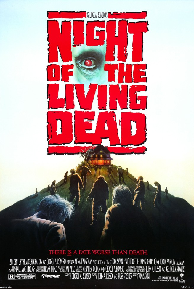 Image result for night of the living dead 1990 poster